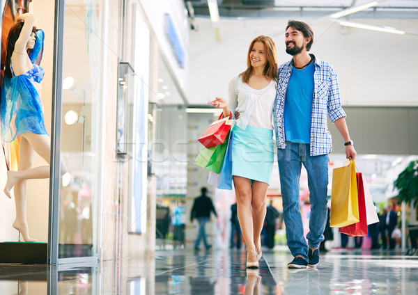Couple in the mall Stock photo © pressmaster