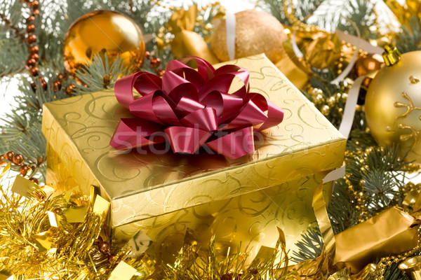 Christmas gift Stock photo © pressmaster