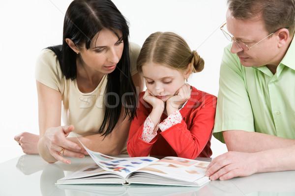 Reading together Stock photo © pressmaster