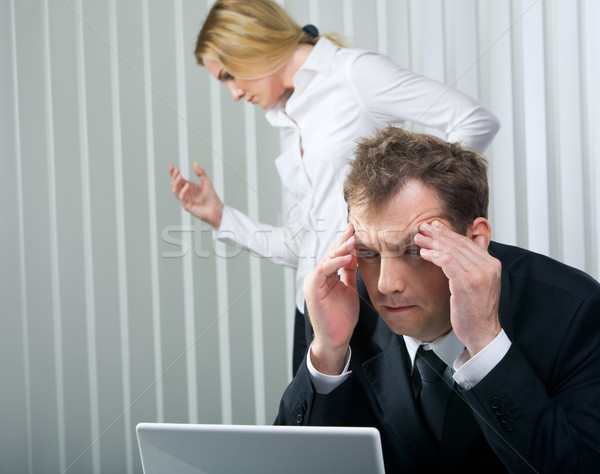Stressful day Stock photo © pressmaster