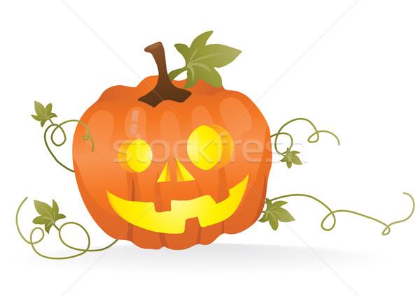 Stock photo: pumpkin