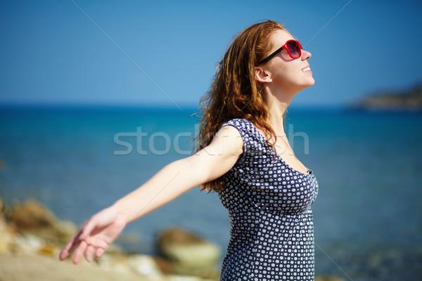 Enjoying sunlight Stock photo © pressmaster