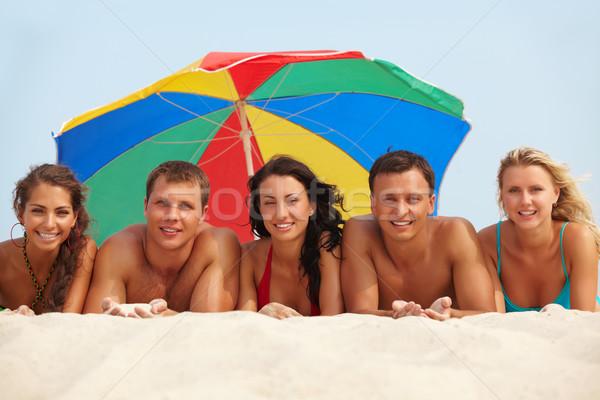 Relaxing friends Stock photo © pressmaster