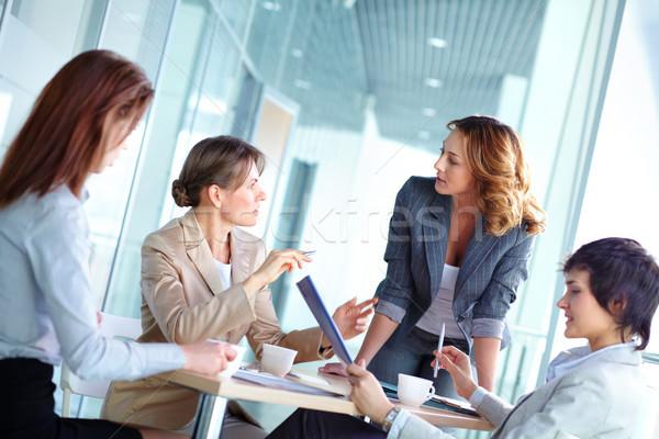 Female brainstorming Stock photo © pressmaster
