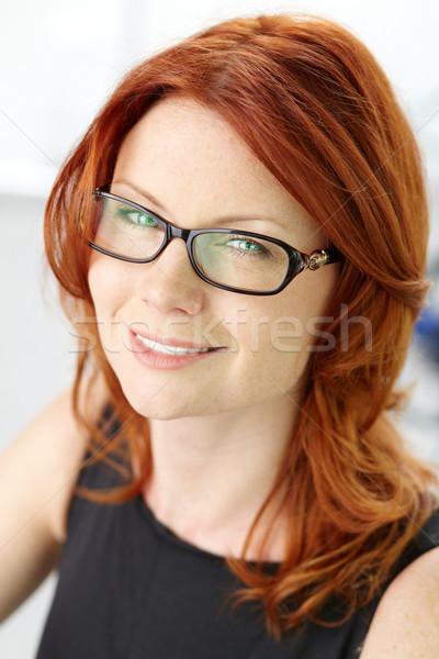 Szépség közelkép lövés csodálatos nő kellemes Stock fotó © pressmaster