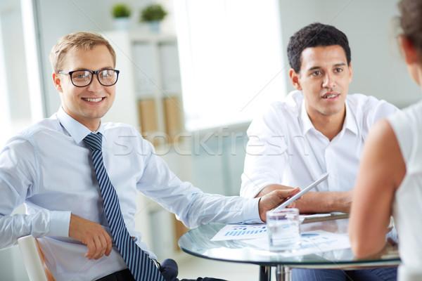 Man at work Stock photo © pressmaster