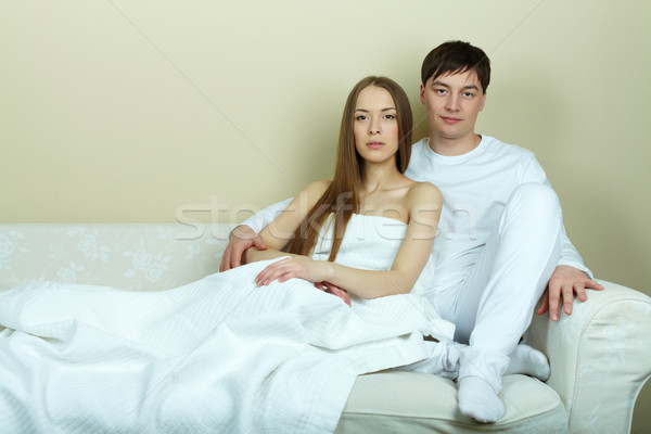 Peaceful couple Stock photo © pressmaster
