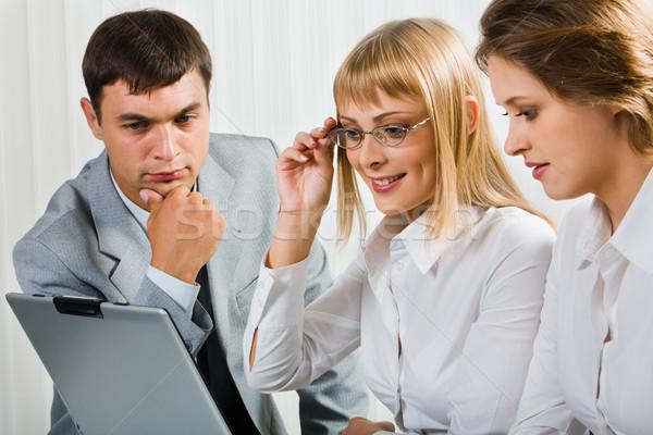 Stockfoto: Business · project · professionals · werken · geslaagd