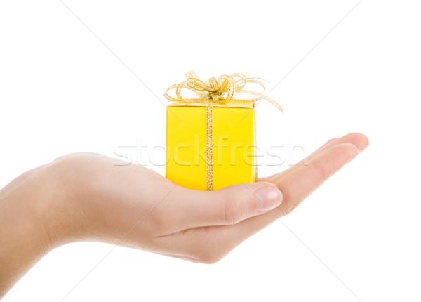 Yellow box Stock photo © pressmaster