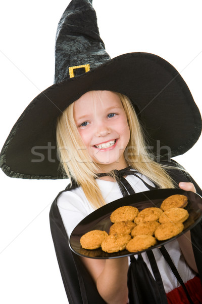 Stock photo: Trick or treat