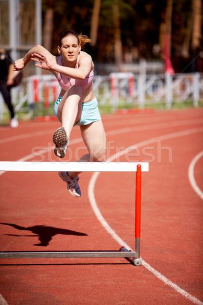 Athletics Stock photo © pressmaster