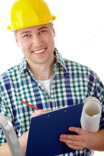 Conscientious foreman Stock photo © pressmaster