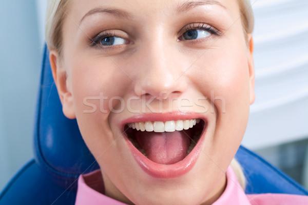 Happy patient Stock photo © pressmaster