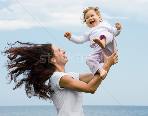 Playing with child Stock photo © pressmaster