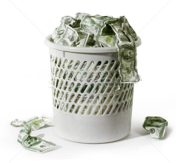 Rubbish with dollars Stock photo © pressmaster
