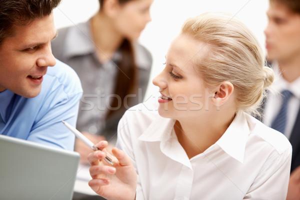 Explaining Stock photo © pressmaster