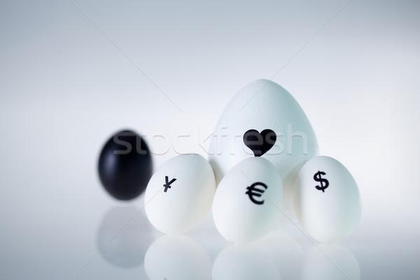 Love is bigger than money Stock photo © pressmaster