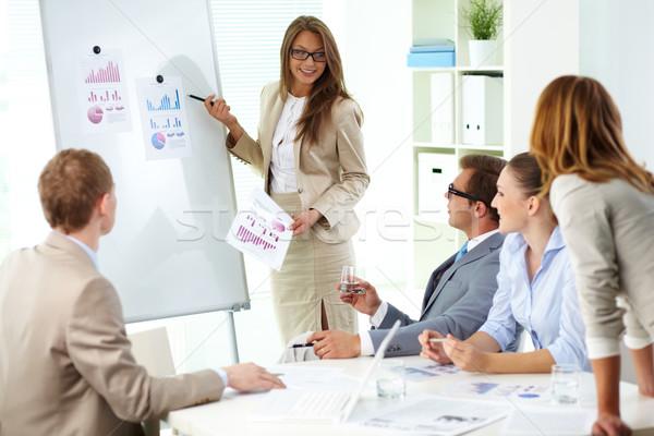 Presenting strategy  Stock photo © pressmaster