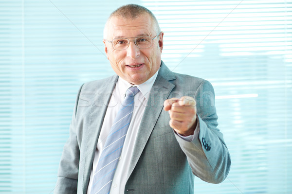 Strict boss Stock photo © pressmaster