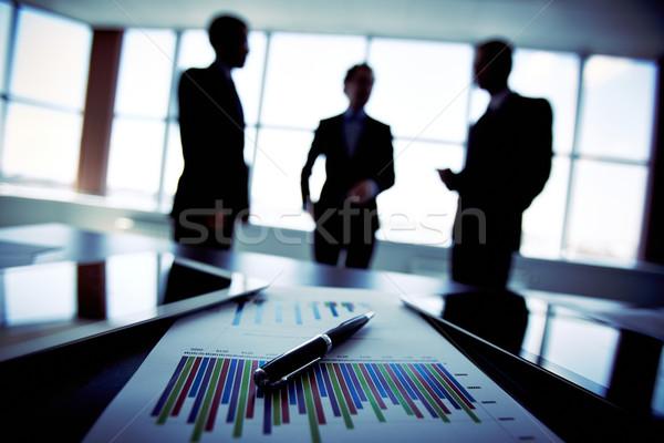 Business trio Stock photo © pressmaster