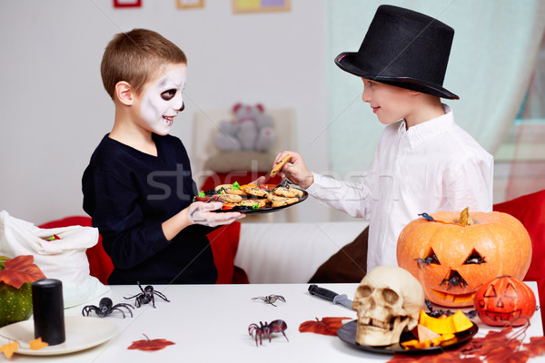 Halloween taste Stock photo © pressmaster