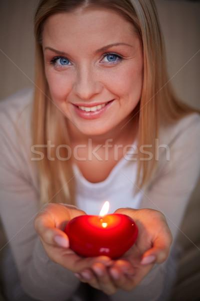 Burning love Stock photo © pressmaster