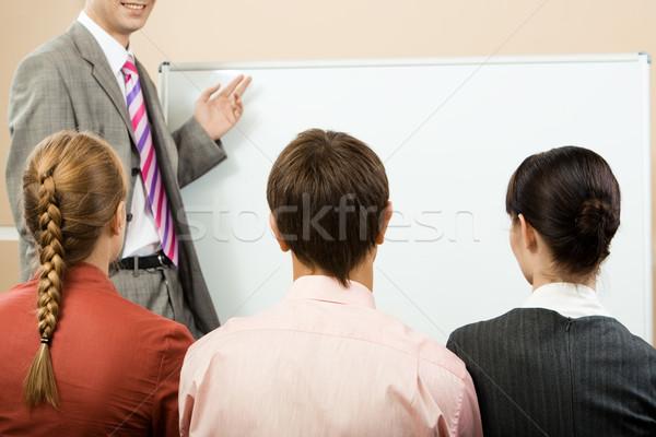 観客 背面図 リスニング 見える ストックフォト © pressmaster
