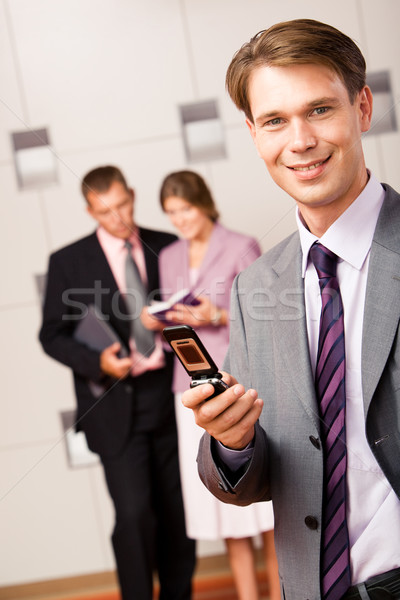 Dialing Stock photo © pressmaster