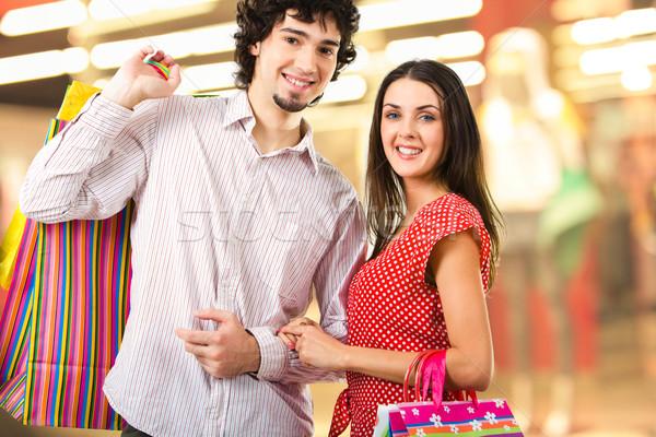 Shopping together Stock photo © pressmaster