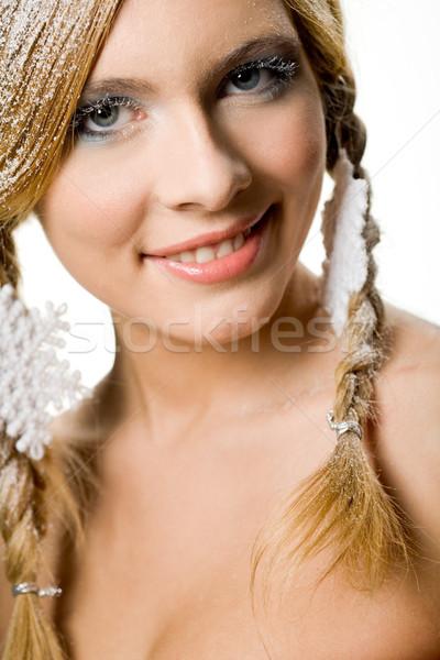 Stock photo: Lovely female
