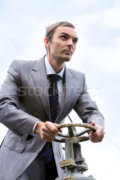 Steering boss Stock photo © pressmaster