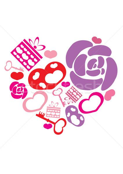 valentine-heart Stock photo © pressmaster