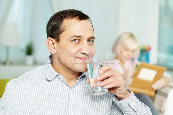 Drinking water  Stock photo © pressmaster