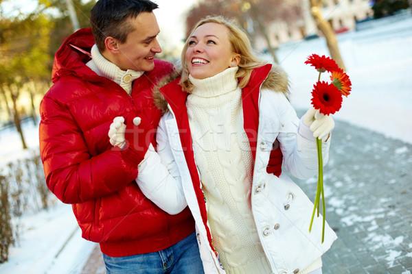 Winter walk Stock photo © pressmaster