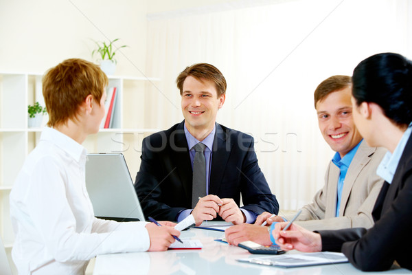 Business briefing  Stock photo © pressmaster