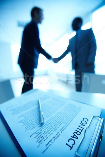 New contract Stock photo © pressmaster