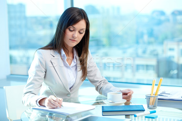 Writing proficiency test Stock photo © pressmaster