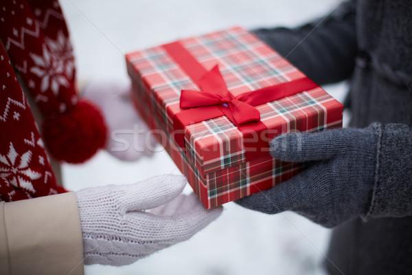 Merry Christmas! Stock photo © pressmaster