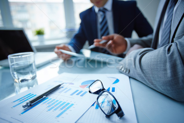 Stock photo: Business meeting