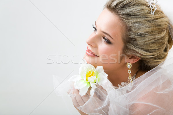 Stock photo: Innocent bride