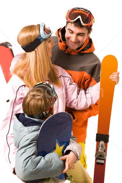 Sporty family Stock photo © pressmaster