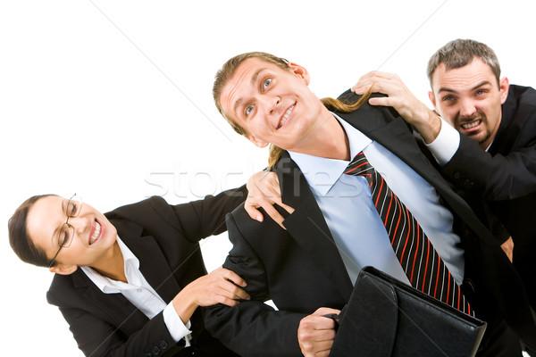 Foto stock: Trabajo · imagen · empresario · libre · negocios · mujer