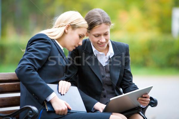 Foto d'archivio: Business · interazione · immagine · due · partner · altro