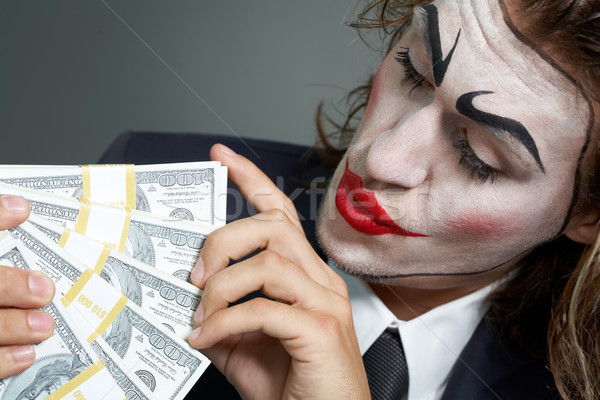 Acting businessman  Stock photo © pressmaster