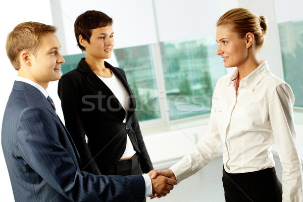 Cooperation Stock photo © pressmaster