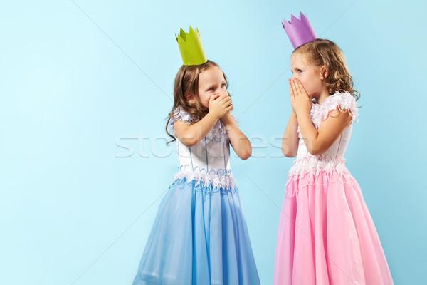Astonished girls Stock photo © pressmaster