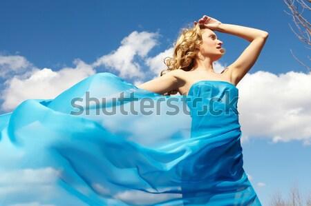 Woman in light cloth Stock photo © pressmaster