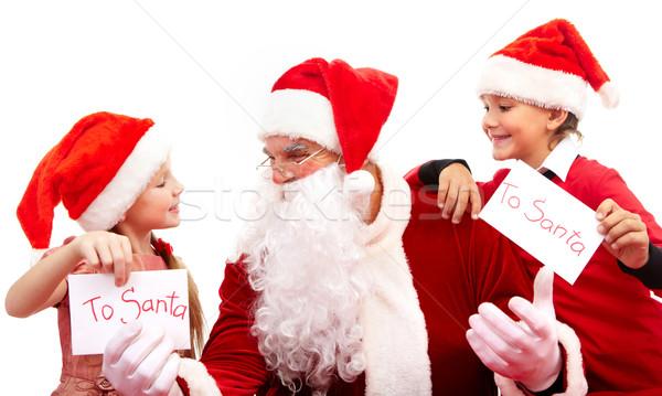 Stock photo: New Year wishes