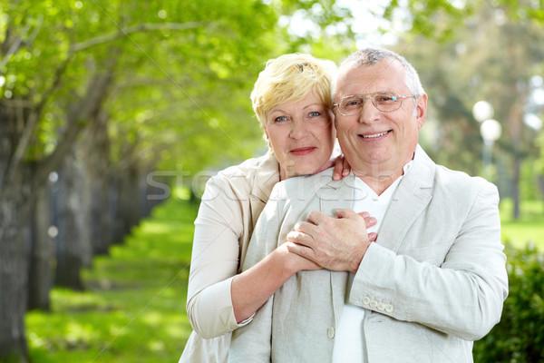 единения портрет счастливым муж Сток-фото © pressmaster