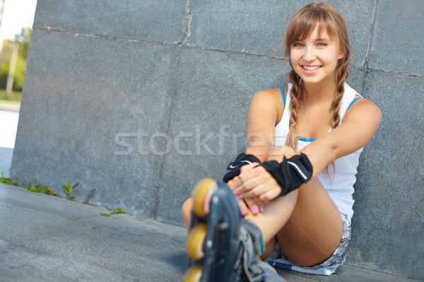 Pretty teenager Stock photo © pressmaster